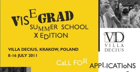 Zapisz się na Letnią Szkołę Wyszehradzką 2011 w Krakowie