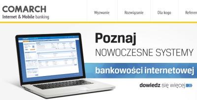 Korporacyjna bankowość internetowa Comarch w kolejnym banku