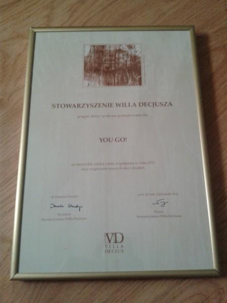 Kraków Willa Decjusza Laur dla Mecenasa