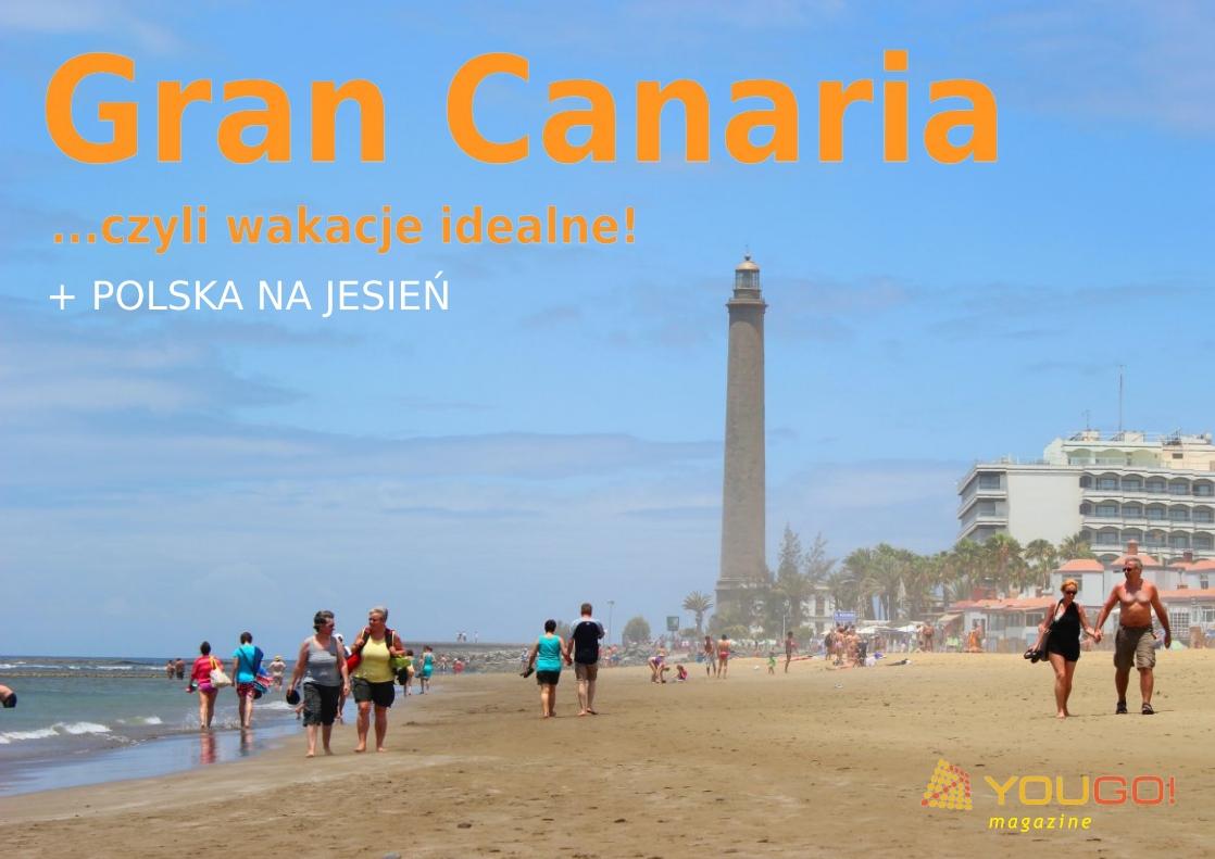 Gran Canaria i Polska w nowym YouGO! Magazine 4/2012