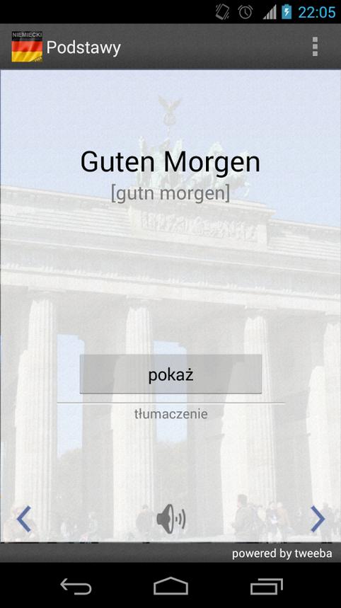 Aplikacja mobilna do nauki niemieckiego od Tweeby