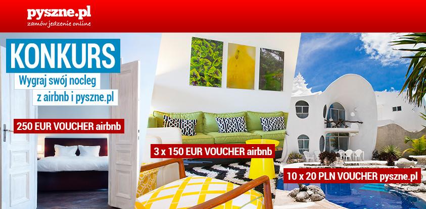 Konkurs Voucher Airbnb